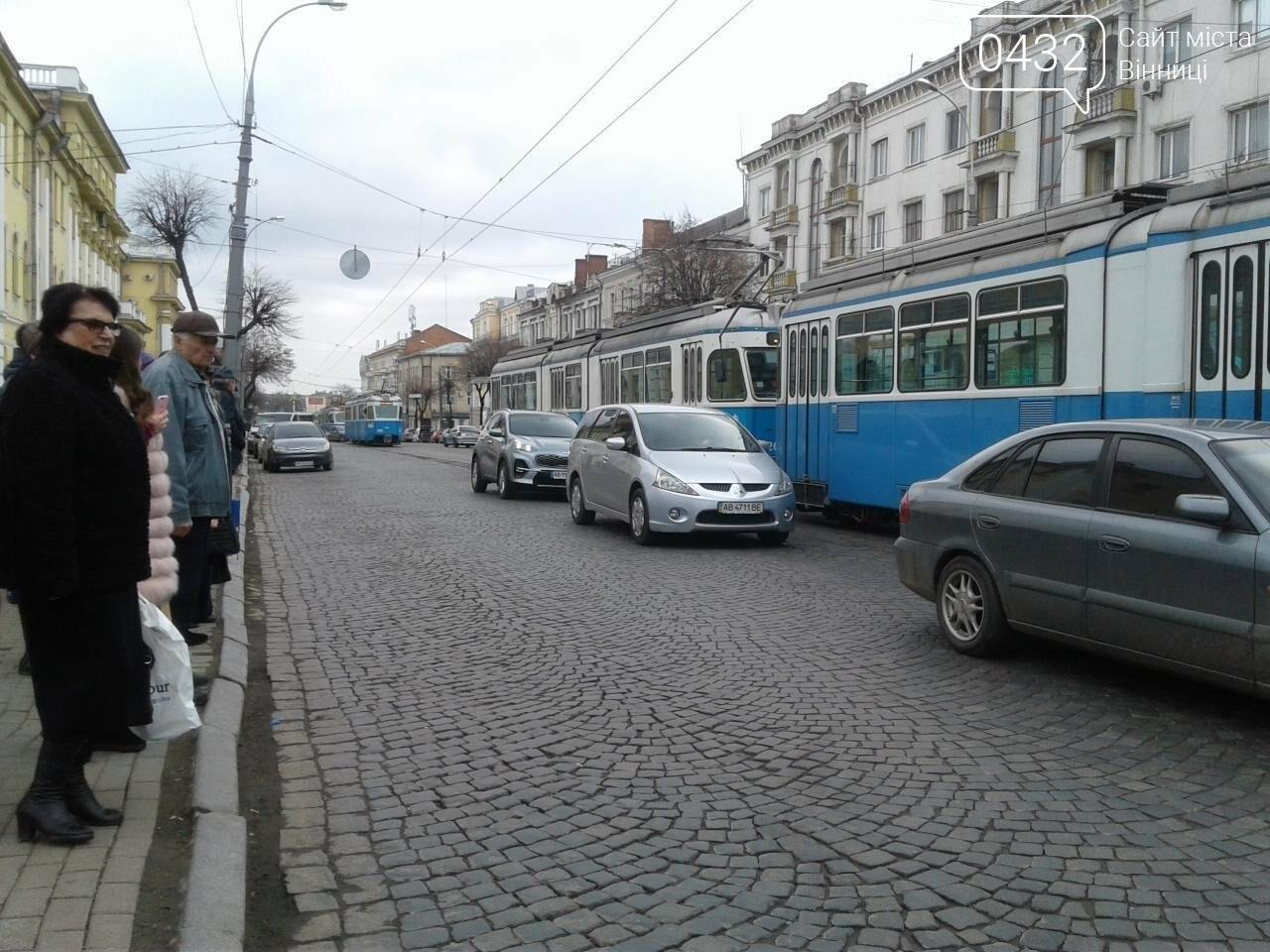 В Виннице на Театральной  остановились трамваи. В чем причина? (ФОТО), фото-4