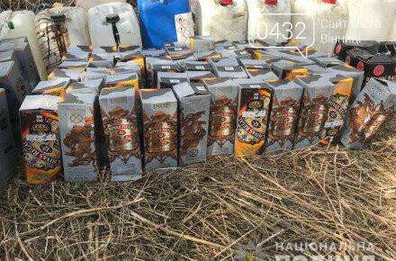 Поддельный алкоголь именитых брендов в Винницкой области (ФОТО), фото-1