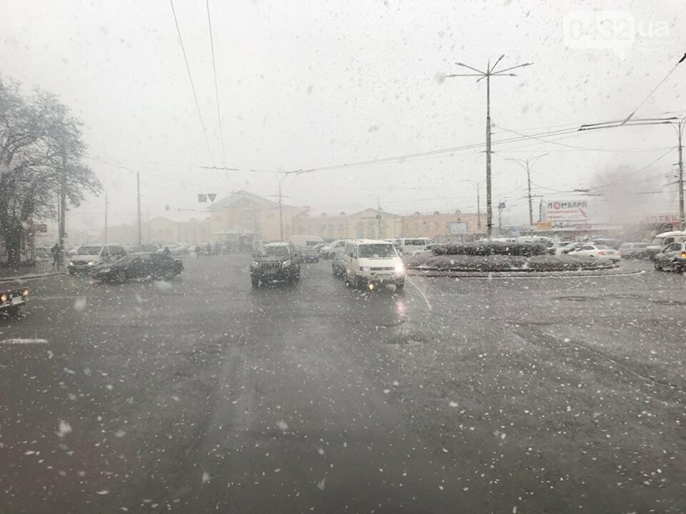 Опять сюрприз: в Винницу вернулась зима (фото), фото-6