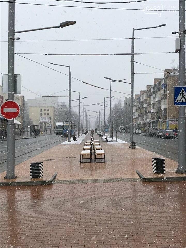 Опять сюрприз: в Винницу вернулась зима (фото), фото-7
