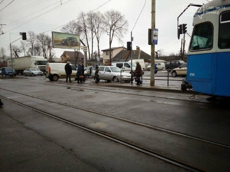 ДТП в Виннице: на перекрестке не разминулись две легковушки (фото), фото-4