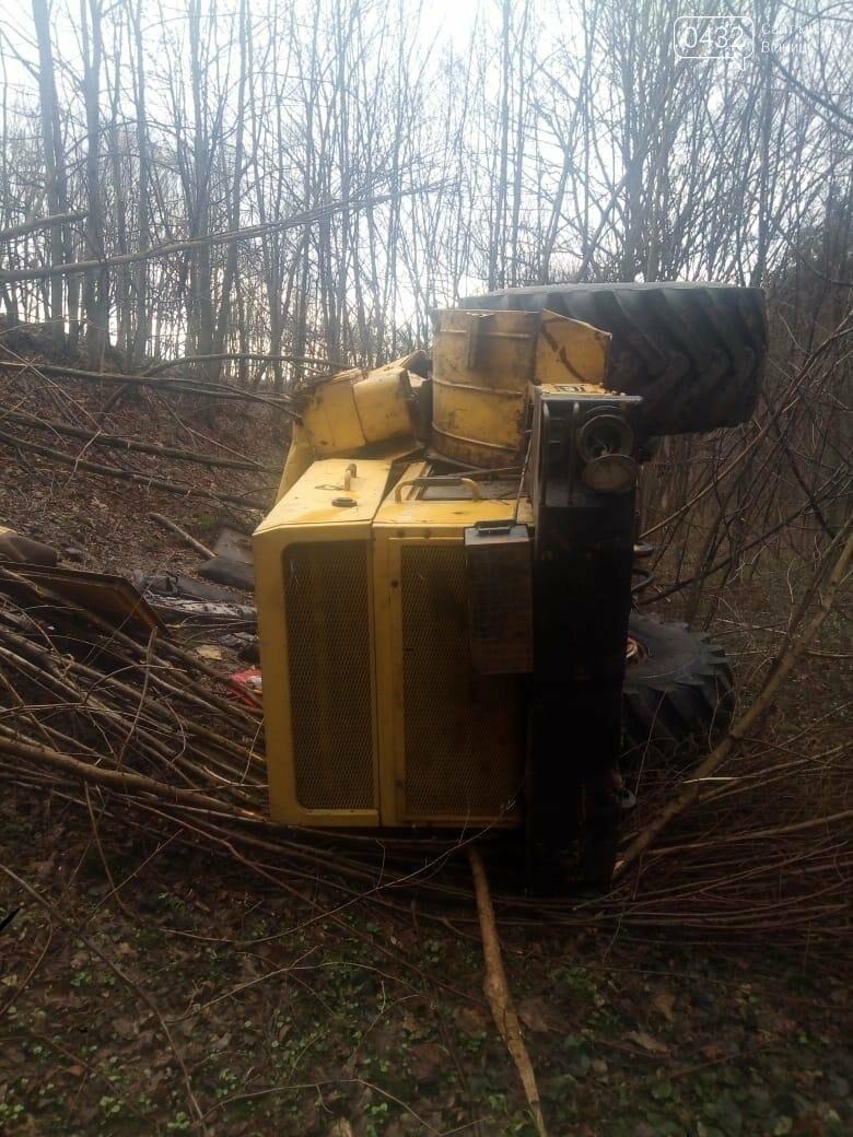 В Винницкой области перевернулся трактор «К-700» (Фото), фото-1