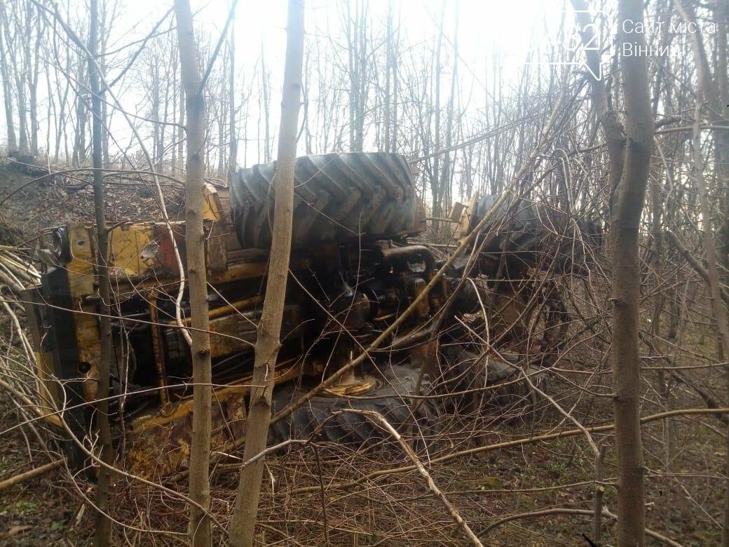 В Винницкой области перевернулся трактор «К-700» (Фото), фото-2