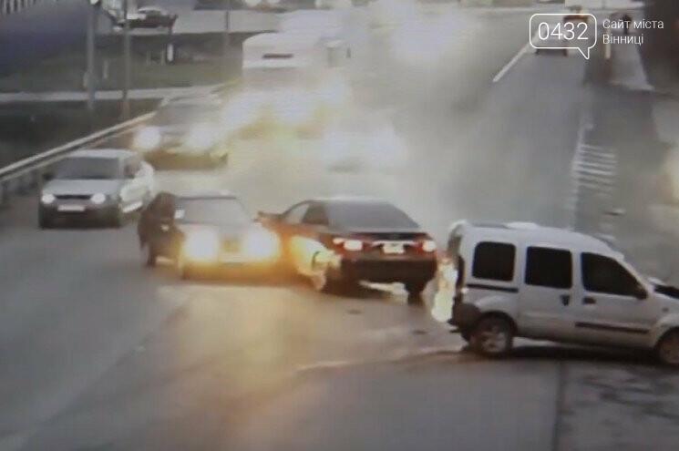В Виннице столкнулись три автомобиля (фото), фото-1