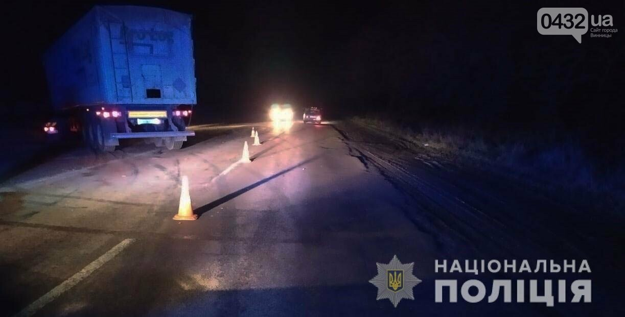 На Винниччине грузовик сбил пешехода, который внезапно вышел на дорогу (фото), фото-2
