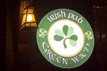 Логотип - Ирландский паб Green Wich, ресторан в Виннице