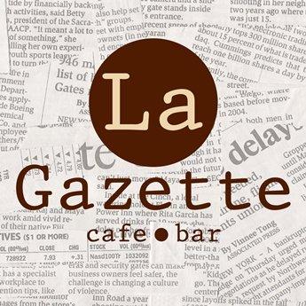 Логотип - La Gazette, кафе, Виннице