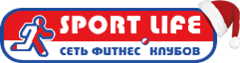 Логотип - Sport Life, фитнес клуб