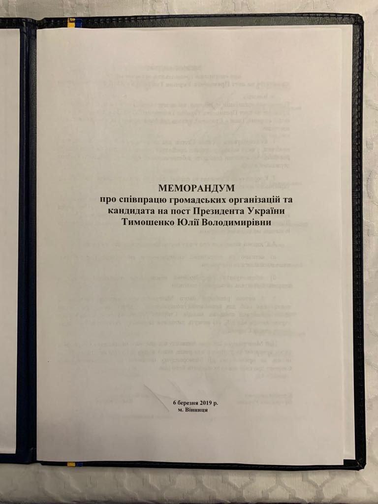 Молодь Вінниччини підтримала Юлію Тимошенко: Підписано Меморандум про співпрацю, фото-2