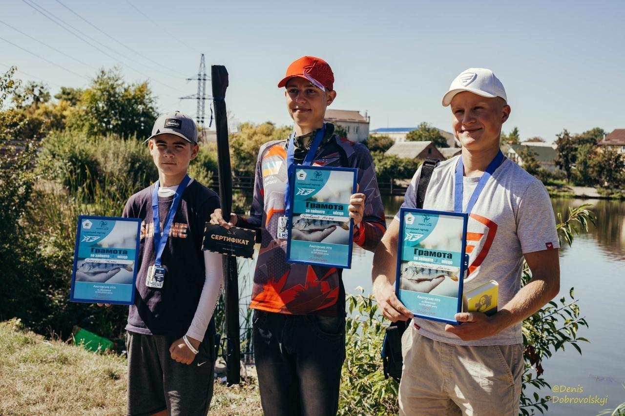 12 вересня «Вишенське озеро» приймало 2-й етап Вінницької Аматорської ліги з лову хижої риби з берега, фото-2
