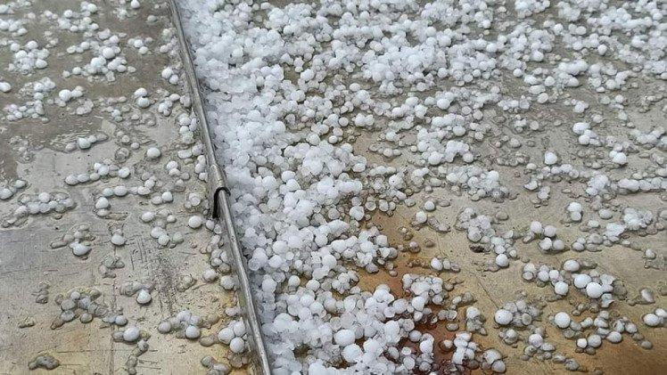 У неділю Вінницю накрили град та потужна злива , фото-2